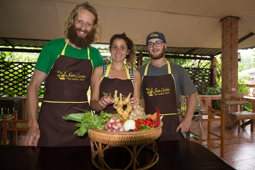 Rest day activity: Thai cooking school