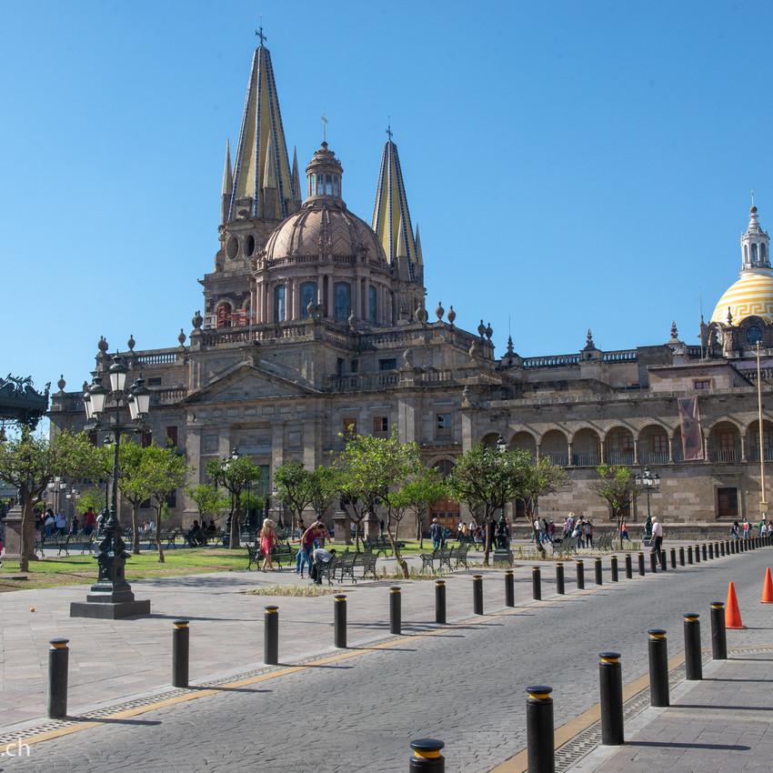 Cazjedral in Guadalajara