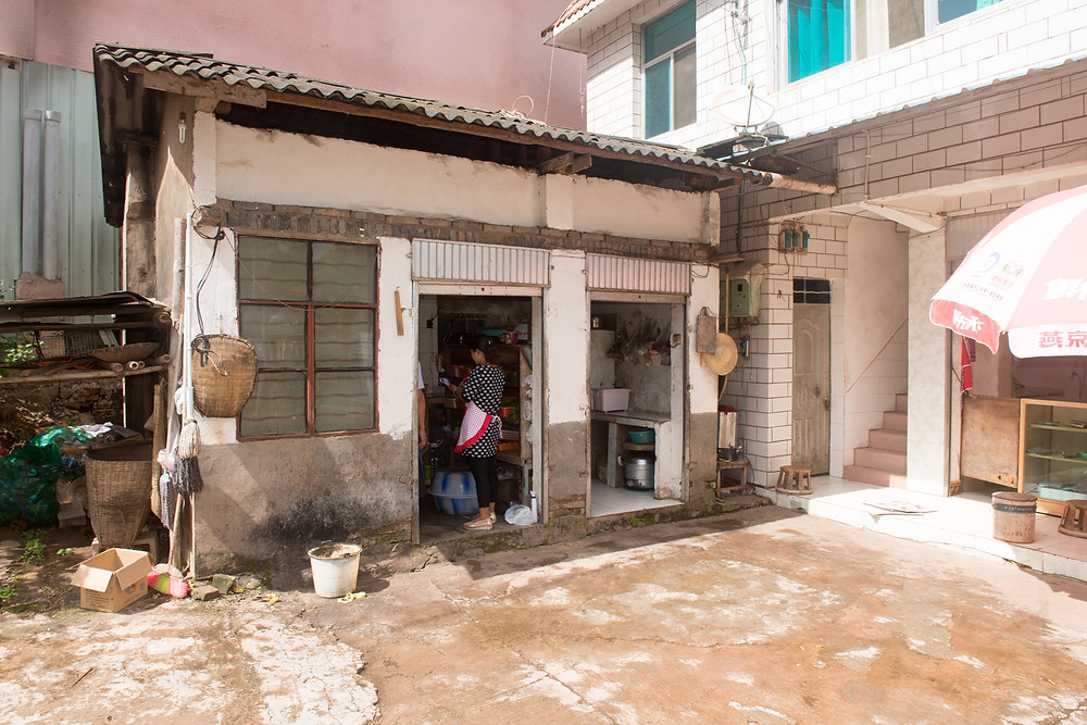 A restaurant in Yunnan