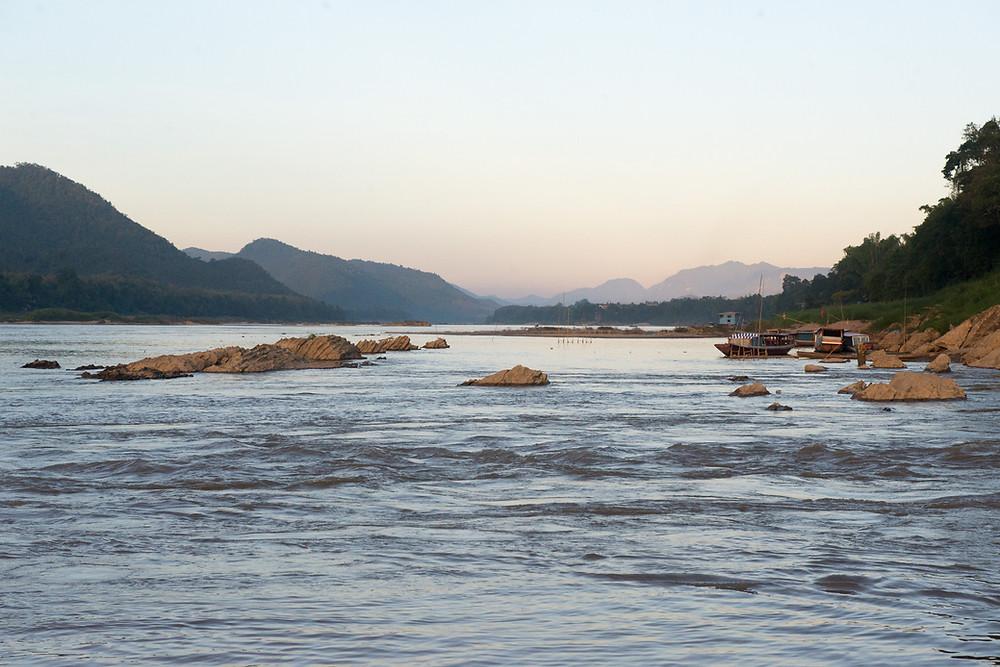 The Mekong in Luang Prabang