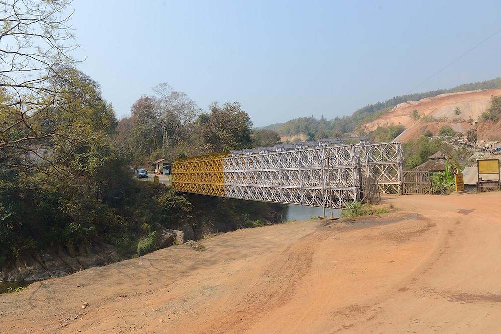 Friendship bridge at the border