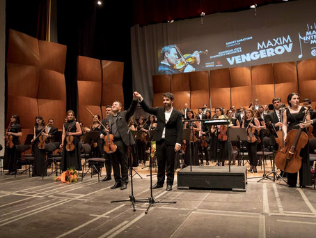 "A new circle of the ""culture circulation""… Maxim Vengerov's debut at the Malta International Music F"