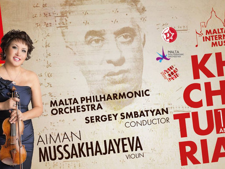 The concert is dedicated to the 115 th anniversary of Aram Khachaturian