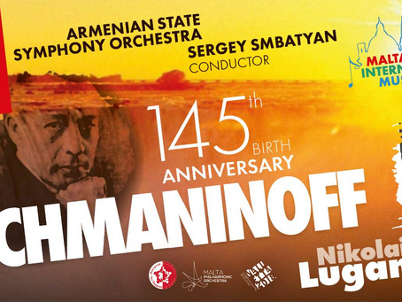 RACHMANINOFF  The concert is dedicated to the 145th anniversary of Sergei Rachmaninoff