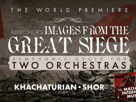 THE GREAT SIEGE JOINT CONCERT OF ARMENIAN STATE SYMPHONY ORCHESTRA AND MALTA PHILHARMONIC ORCHESTRA