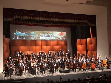 Malta listened to Aram Khachaturian's music