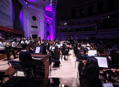 """Armenia"" Symphonic Poem opens int'l music festival in Yerevan"
