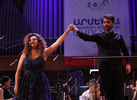 Anna Aglatova talks about Armenian roots, cooperation with Spivakov and returning back to Armenia