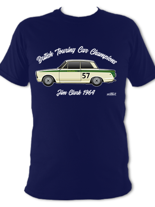 Jim Clark 1964 Champion | Adult Unisex | Short Sleeve T-Shirt