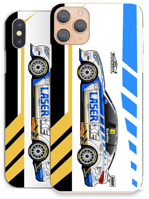 Carl Boardley 2021 | Laser Tools Racing | iPhone Phone Case