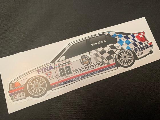 Joachim Winklehock 1993 Champion Sticker