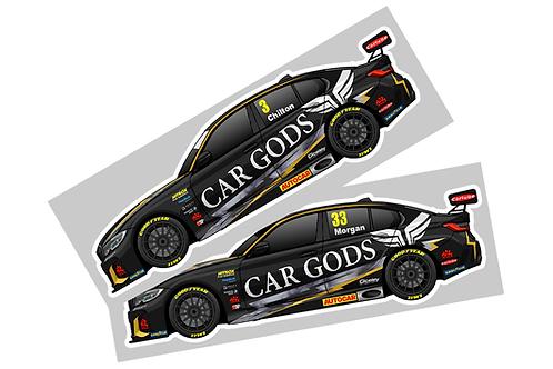 Ciceley Motorsport 2021 Sticker