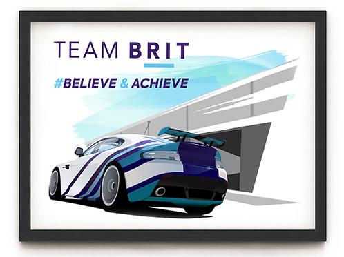 Team BRIT A3 - A0 Poster