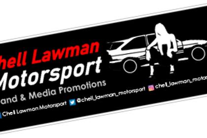 Chell Lawman Motorsport 2021 Sticker