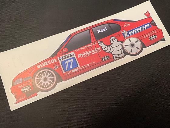 Matt Neal 1999 Sticker