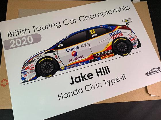 MB Motorsport 2020 Poster