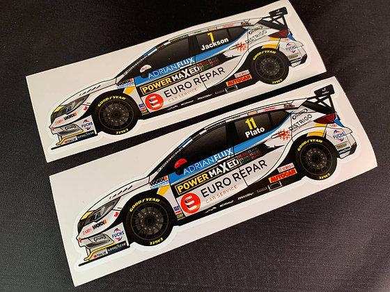 Power Maxed Racing 2020 Sticker Set