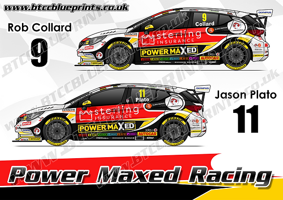 2019 Power Maxed Racing Team Poster
