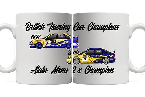 Alain Menu 2 x Champion 11oz Mug