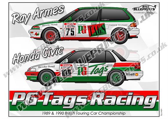 PG Tags Racing