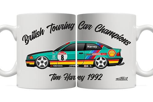 Tim Harvey 1992 Champion 11oz Mug