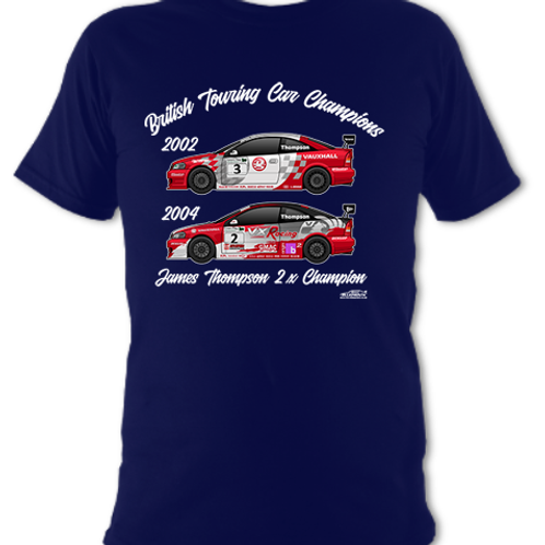 James Thompson 2 x Champion | Children's | Short Sleeve T-shirt