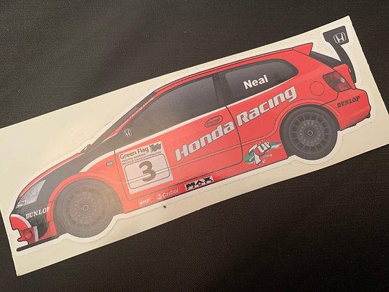 Matt Neal 2003 Sticker