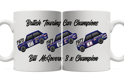 Bill McGovern 3 x Champion 11oz Mug