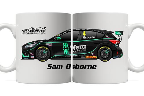 Sam Osborne 2021 | Motorbase Performance | 11oz Mug