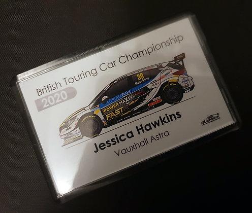 Jessica Hawkins 2020 Magnet