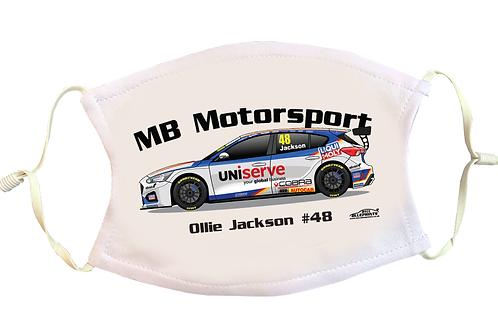 Ollie Jackson 2021 | Motorbase Performance | Face Mask