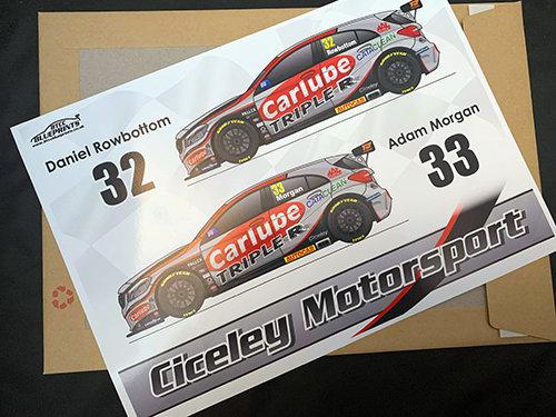 Ciceley Motorsport 2020 Poster