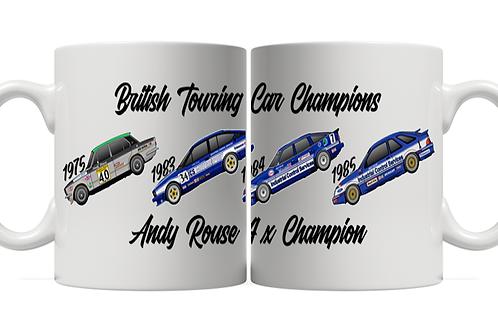 Andy Rouse 4 x Champion 11oz Mug