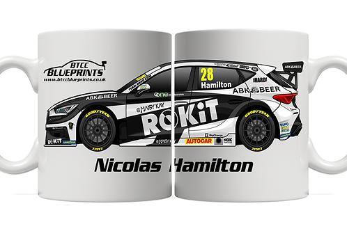 Nicolas Hamilton 2021 | Team HARD | 11oz Mug