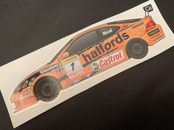 Matt Neal 2006 Champion Sticker