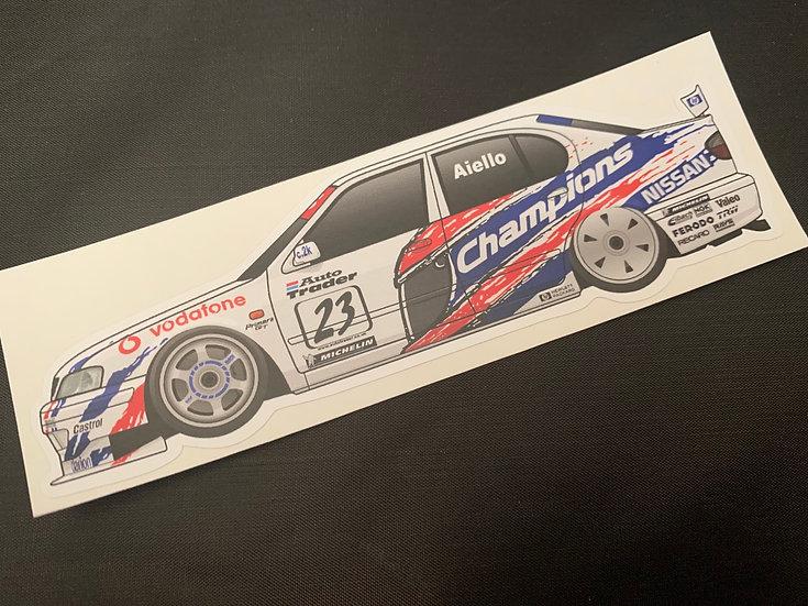Laurent Aiello 1999 Champion Sticker