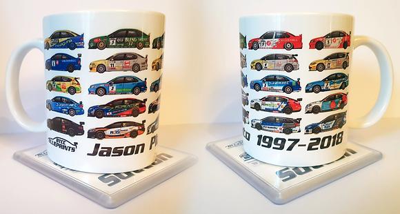 Jason Plato 1997 - 2018 Mug