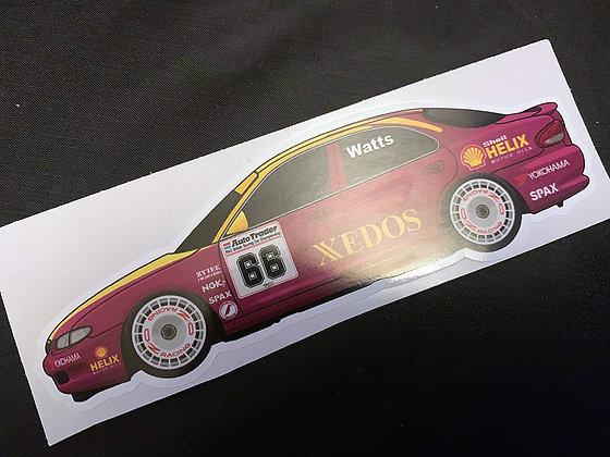Patrick Watts 1993 Sticker