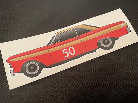 Frank Gardner 1967 Champion Sticker