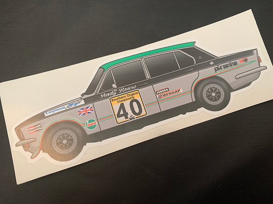 Andy Rouse 1975 Champion Sticker
