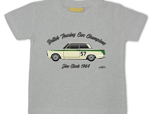 Jim Clark 1964 Champion | Baby/Toddler | Short Sleeve T-shirt