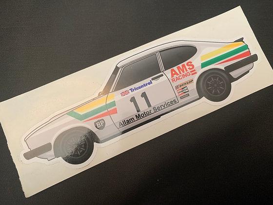 Jeff Alam 1979 Sticker