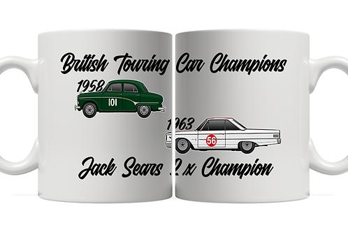 Jack Sears 2 x Champion 11oz Mug