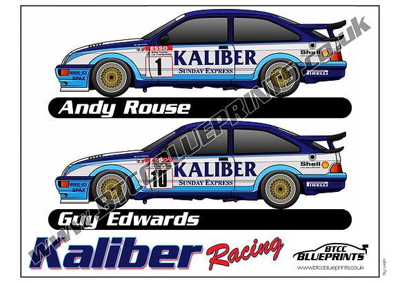 Caliber Racing 1989