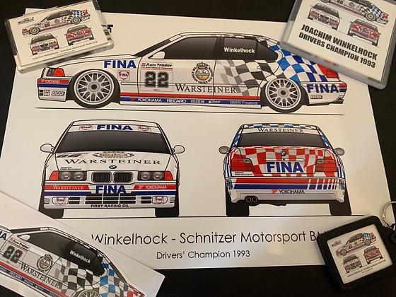 1993 Champion Joachim Winkelhock Set