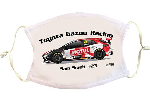 Sam Smelt 2021 | Toyota Gazoo Racing | Face Mask
