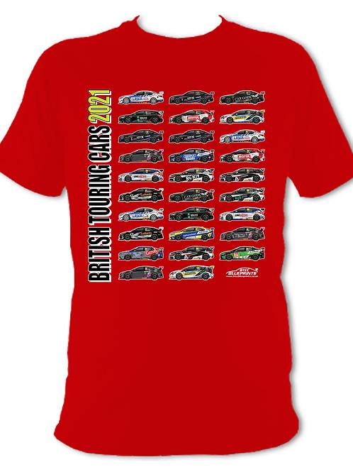 2021 BTCC GRID | Adult Unisex | Short Sleeve T-Shirt