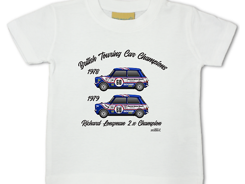 Richard Longman 2 x Champion | Baby/Toddler | Short Sleeve T-shirt