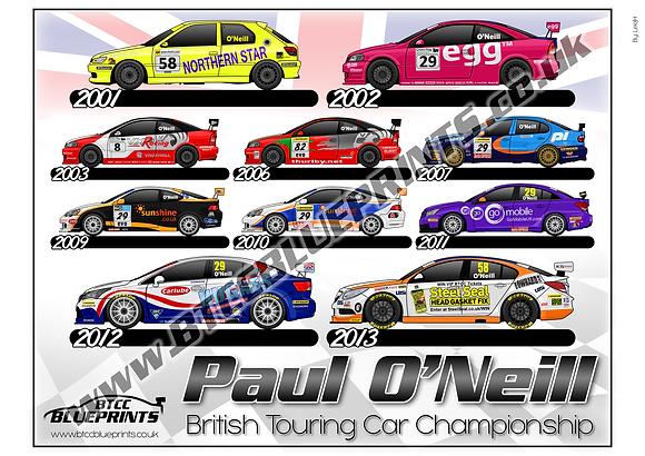 Paul O'Neil Career
