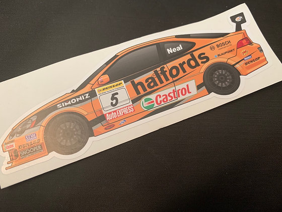 Matt Neal 2005 Champion Sticker